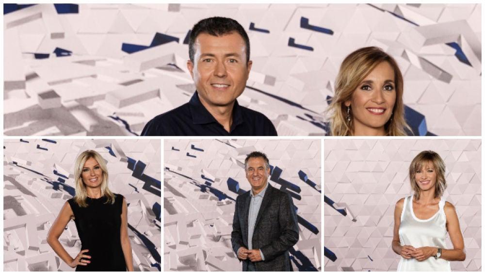 Imagen de los presentadores