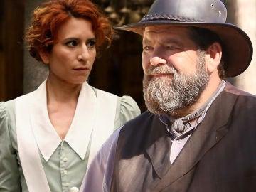 Fe y Mauricio en 'El secreto de Puente Viejo'