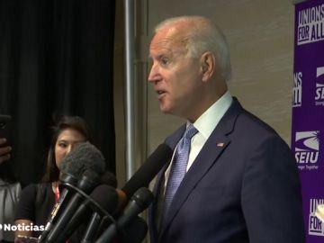"""Joe Biden asegura que Trump es el presidente """"más corrupto y trastornado"""" en la historia de Estados Unidos"""