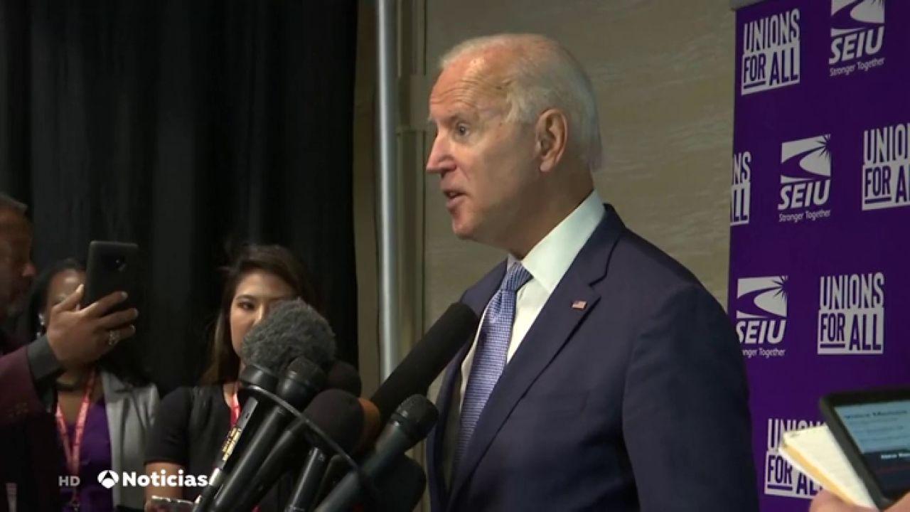 """Joe Biden: """"Trump Es El Presidente Más Corrupto Y"""