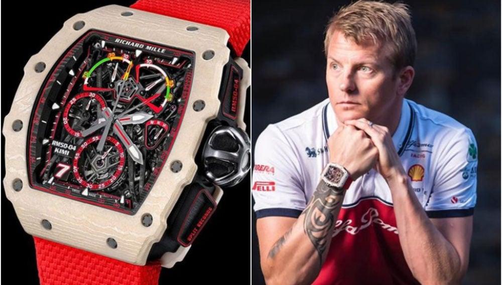Räikkönen luce su reloj