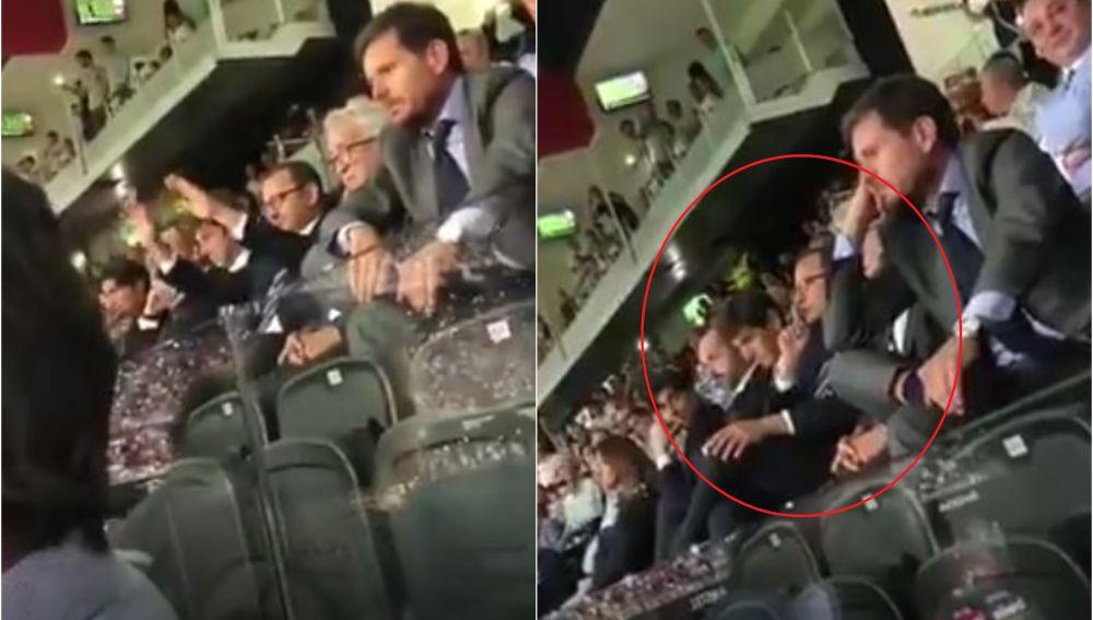 Murthy manda callar al público de Mestalla
