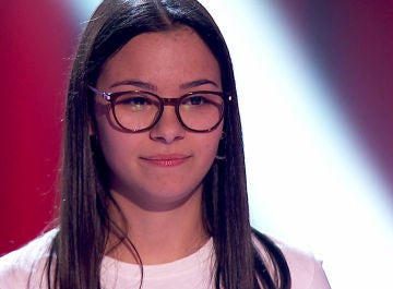 Alba Aguilar, talent de 'La Voz Kids'