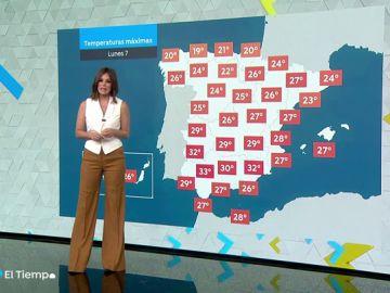 Cielo poco nuboso o despejado para este lunes en casi toda España