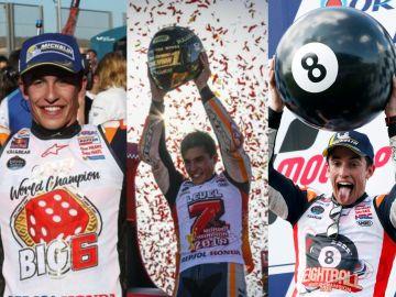 Marc Márquez ocho veces campeón
