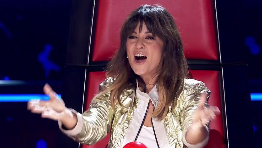 Vanesa Martín, sorprendida en las Audiciones a ciegas de 'La Voz Kids'