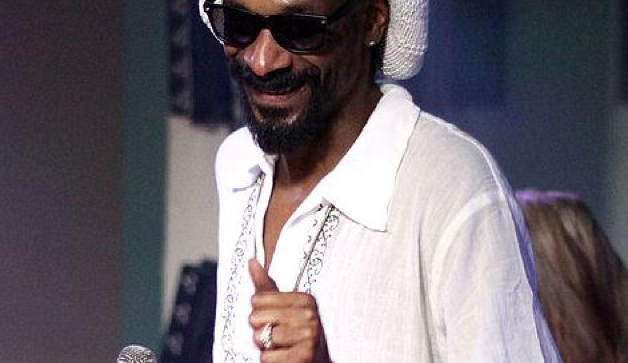 Snoop Dog en uno de sus conciertos