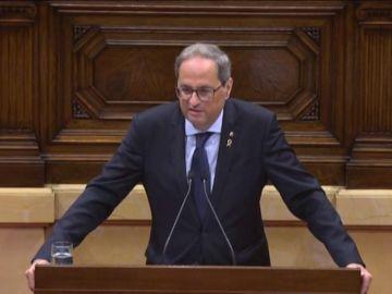 """A3 Noticias 1 (17-10-19) Quim Torra: """"Volveremos a poner las urnas de la autodeterminación"""""""