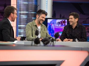 Estopa revela en 'El Hormiguero 3.0' su anécdota en una fiesta con Messi: les robaron el móvil con sus nuevas canciones