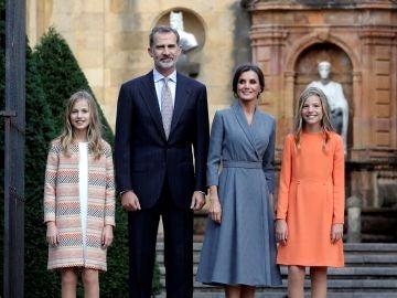 La Familia Real llega a Oviedo