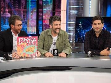 """Estopa recuerda en 'El Hormiguero 3.0' el reto de su primer trabajo hace 20 años: """"Teníamos que vender 2.000 discos para renovar"""""""