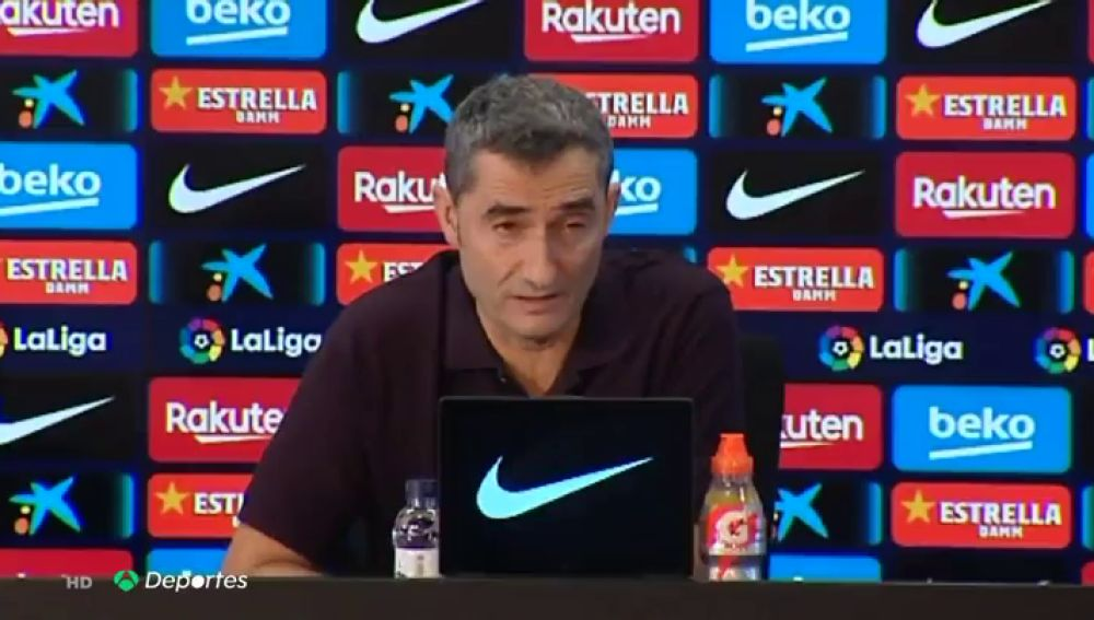 """Valverde, sobre la sentencia del 'procés': """"El club ha hecho un comunicado en el que estamos todos representados"""""""