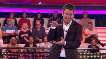 La confesión más personal de Arturo Valls en '¡Ahora caigo!': forma parte de un grupo llamado 'Los barriguitas'