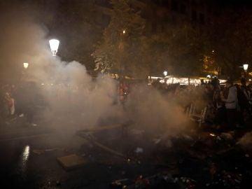 Cuarto día de manifestaciones en Cataluña