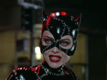 Michelle Pfeiffer como Catwoman en 'Batman returns'