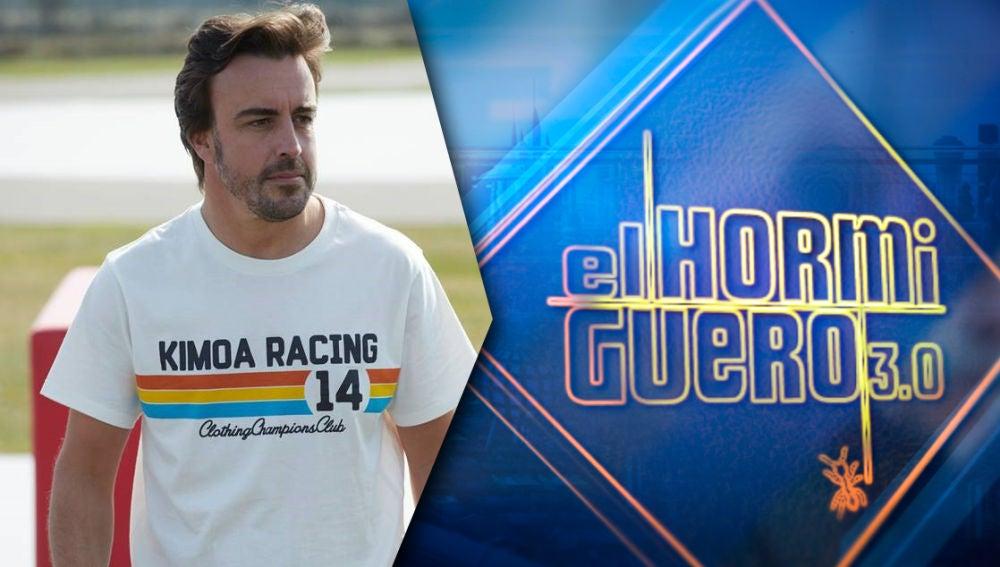 El lunes arrancamos la semana en 'El Hormiguero 3.0' con uno de los mejores deportista españoles, el piloto Fernando Alonso