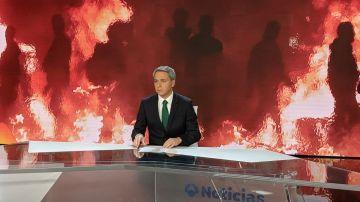 Vicente Vallés informa de los disturbios en Cataluña