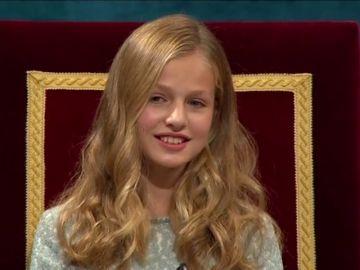 El discurso de Leonor en los Premios Princesa de Asturias 2019