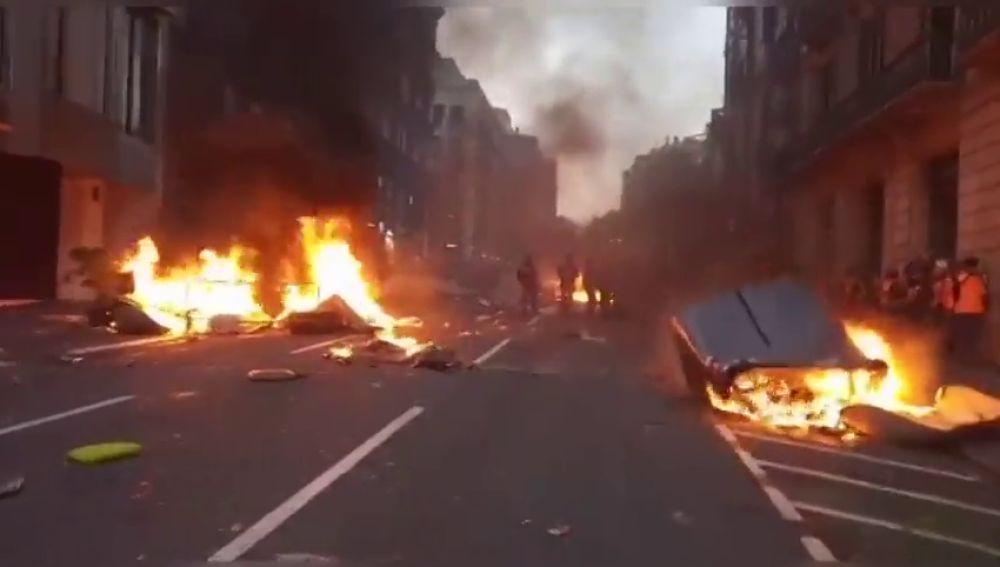 Barcelona: escenario del caos
