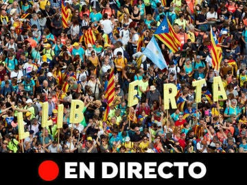 Huelga Cataluña, en directo: Última hora de la manifestación en Barcelona hoy