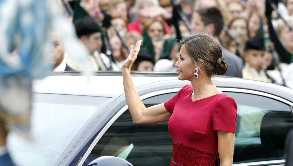La reina Leticia en los premios Princesa de Asturias 2019