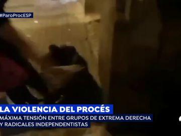 La violencia del procés.