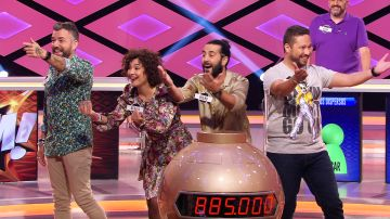 El equipo 'La bamba' revoluciona el plató de '¡Boom!' con un grito de guerra lleno de ritmo