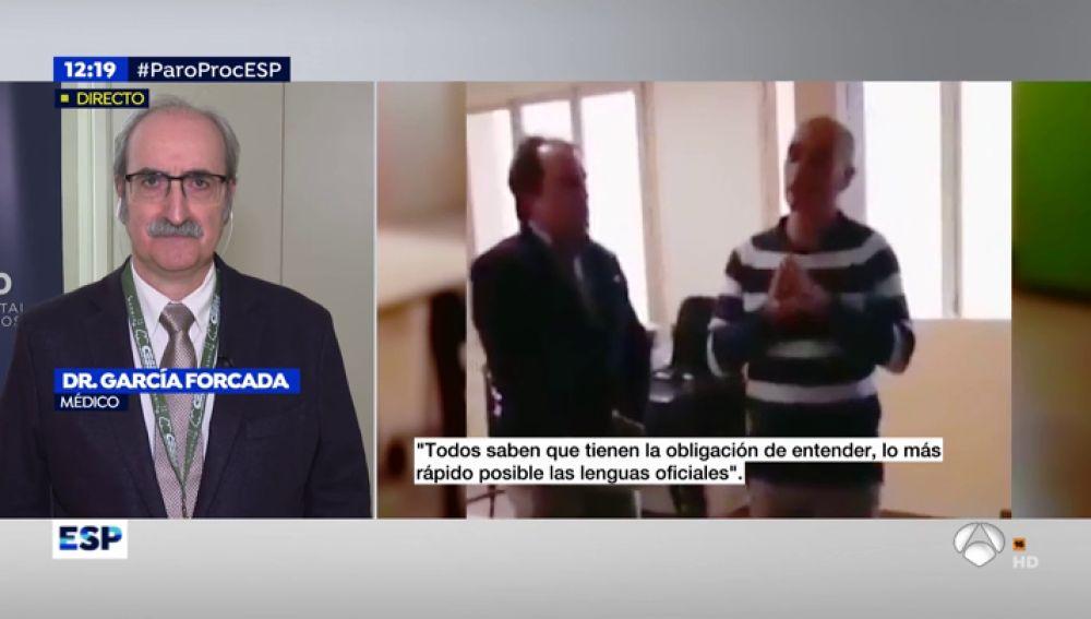 Un médico denuncia que los sanitarios catalanes proclamen el independentismo