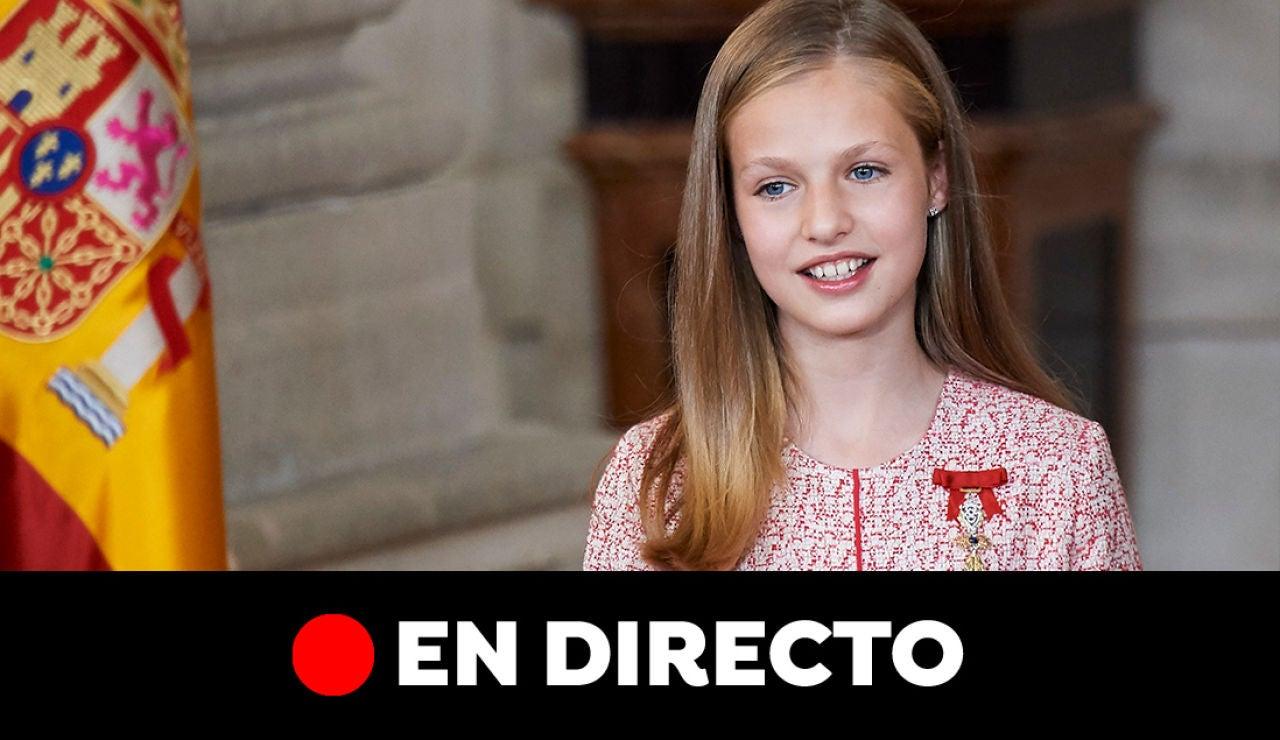 Premios Princesa de Asturias 2019, Leonor, Letizia y los premiados, en directo