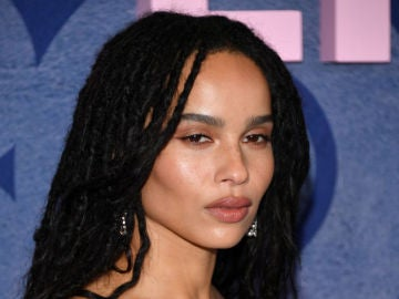 Zoe Kravitz en el preestreno de 'Big Little Lies'