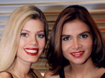 Lorna Cepeda y Natalia Ramírez, 'La peliteñida' y Marcela en 'Yo soy Betty, la fea'