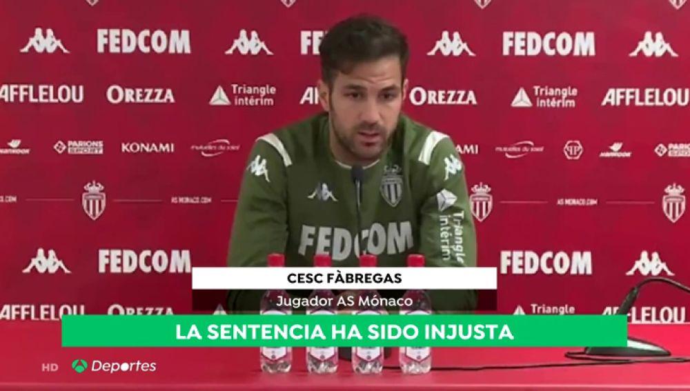 """Cesc Fábregas, sobre la situación en Cataluña: """"Es una injusticia muy grande"""""""