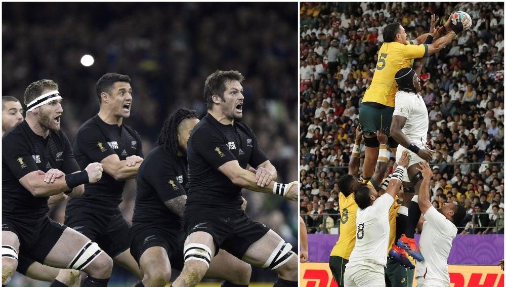 Inglaterra y Nueva Zelanda se enfrentarán en las semifinales del mundial de rugby
