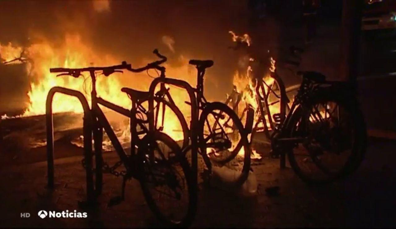 Los destrozos por los disturbios en Barcelona rondan los dos millones de euros