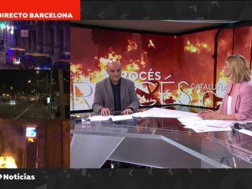 "Serafín Giraldo, inspector de Policía: ""Los radicales actúan como auténtica 'kale borroka'"""