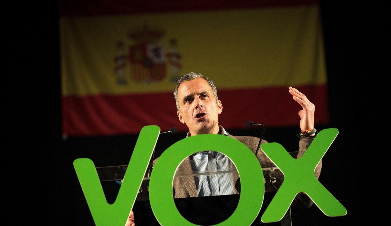Ortega Smith critica que haya policías acuartelados sin actuar en Cataluña