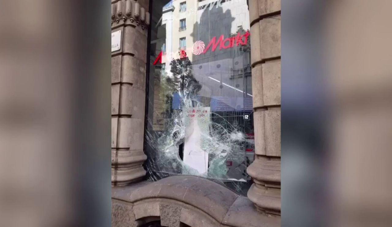 Los daños de los disturbios en Barcelona costarán más de 2,5 millones de euros