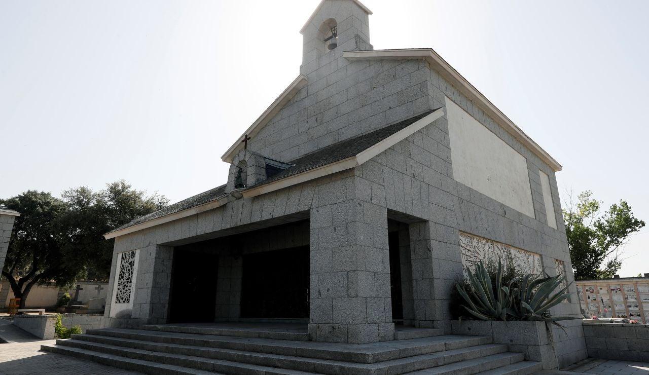 Panteón donde se enterrará a Franco en el cementerio El Pardo-Mingorrubio.
