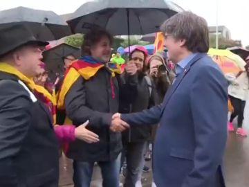 """""""Por trabajo"""", la excusa de Puigdemont para no ir a una manifestación independentista en Waterloo"""