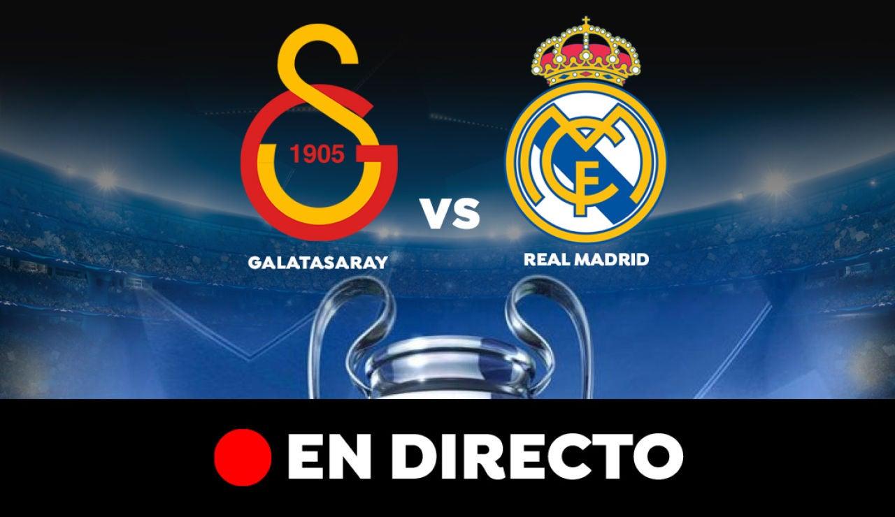 Galatasaray - Real Madrid: Resultado del partido de hoy de Champions League, en directo