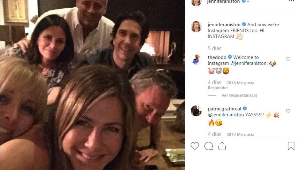 La reunión de 'Friends'
