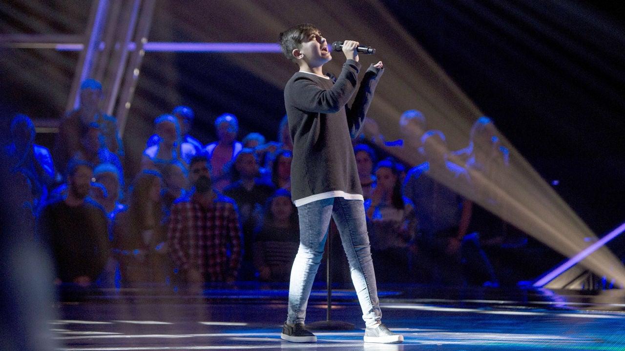 Marcos Díaz Canta 'Stone Cold' En Las Audiciones A Ciegas