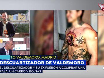 La exnovia del descuartizador de Valdemoro fotografió un parte del cuerpo de la víctima en la barbacoa de la casa