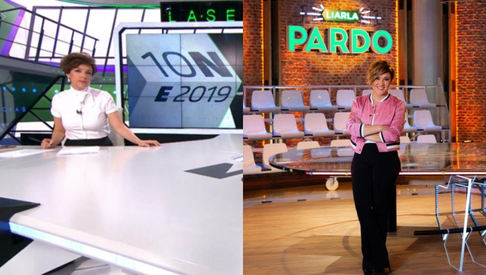 Sexta Noticias 20H FDS, con Cristina Villanueva y 'Liarla Pardo', con Cristina Pardo