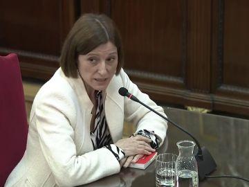 El expresidenta del Parlament reconoce que no tuvieron empatía con los no independentistas