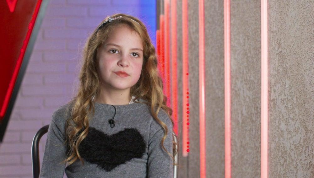 """Molly Puigcercos: """"Tengo una hermana de 6 años y quiero hacer un grupo de música con ella"""""""