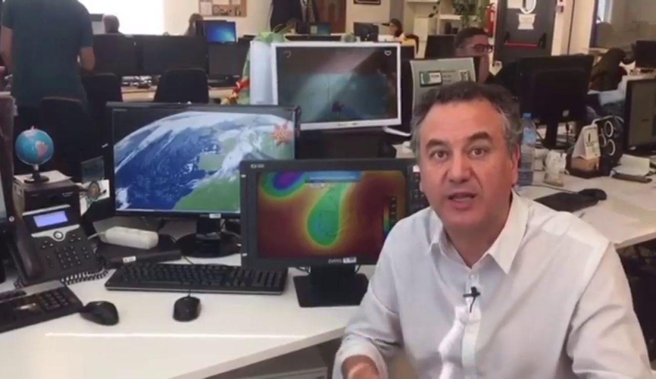 Una nueva dana amenaza con dejar lluvias torrenciales en Cataluña, Comunidad Valenciana y Baleares