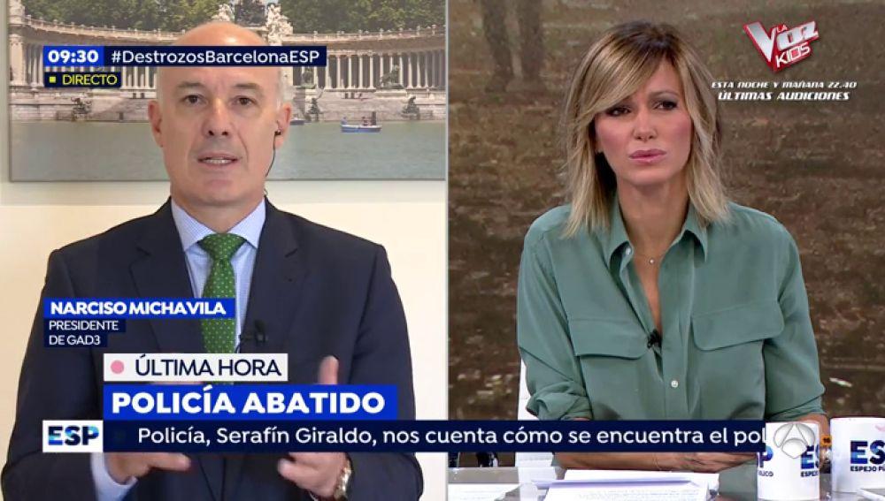 Entrevista Narciso Michavila.