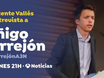 Íñigo Errejón será entrevistado por Vicente Vallés esta noche