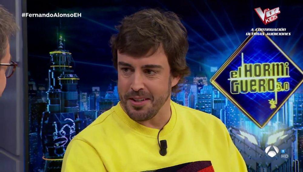 Fernando Alonso desvela por fin en 'El Hormiguero 3.0' si correrá el Rally Dakar